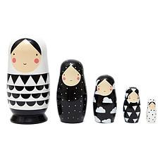 Achat Mes premiers jouets Poupées Russes - Noir et Blanc