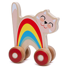 Achat Mes premiers jouets Chat à Pousser