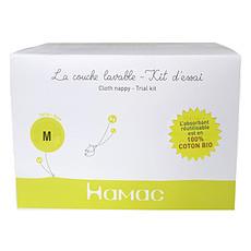 Achat Couche Kit d'Essai 100% Coton Bio Green Banana - Taille M