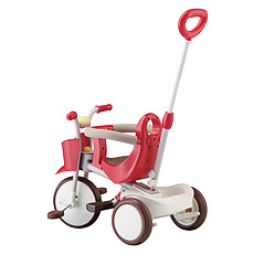 Achat Trotteur & Porteur Tricycle Evolutif - Vital Red