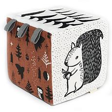 Achat Mes premiers jouets Cube en Tissu - Woodlands