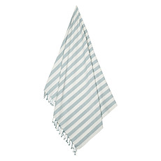 Achat Linge & Sortie de bain Serviette de Plage Mona - Sea Blue et Crème de la Crème