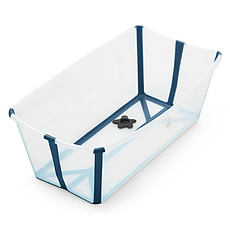 Achat Baignoire Baignoire Pliable Flexi Bath - Bleu Transparent