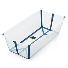 Achat Baignoire Baignoire Pliable Flexi Bath X-Large - Bleu Transparent