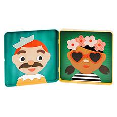 Achat Mes premiers jouets Tableau Magnétique Les Drôles de Têtes