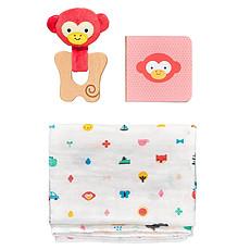 Achat Mes premiers jouets Coffret Cadeau Singe