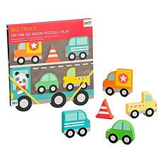 Achat Mes premiers jouets Puzzle en Bois Les Gros Camions