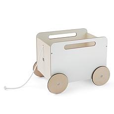 Achat Mes premiers jouets Chariot à Jouets - Blanc