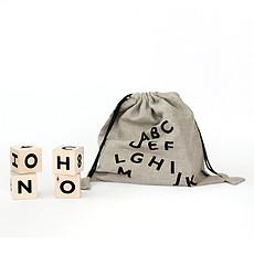 Achat Mes premiers jouets Blocs Alphabet - Noir