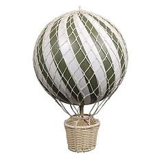 Achat Objet décoration Grande Montgolfière Décorative - Vert Olive