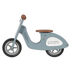 Achat Trotteur & Porteur Draisienne Scooter en Bois - Bleu