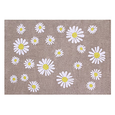 Achat Tapis Tapis Lavable Oh Happy Daisies - 140 x 200 cm