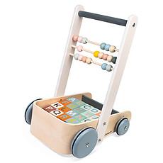 Achat Trotteur & Porteur Chariot de Cubes ABC Sweet Cocoon