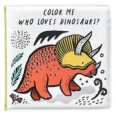 Achat Livre & Carte Livre de Bain Color Me - Who Loves Dinosaurs