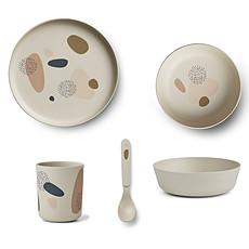 Achat Coffret repas Set de Vaisselle 4 Pièces - Bubbly Sandy