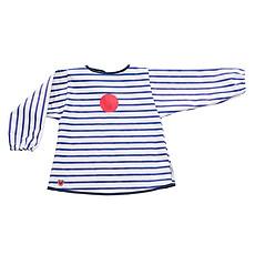 Achat Bavoir Tablier Bavoir - Blue Stripes