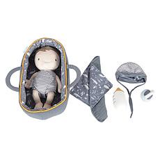Achat Mes premiers jouets Set Couffin et Poupon Bébé Jim