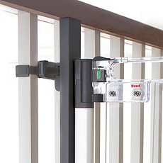 Achat Barrière de sécurité Kit de Montage Rampe - Gris