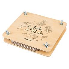 Achat Livre & Carte Presse à Fleurs - Le Jardin du Moulin