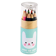 Achat Livre & Carte Boîte de 12 Crayons de Couleurs Bonie Lapin