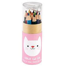 Achat Livre & Carte Boîte de 12 Crayons de Couleurs Cookie Chat