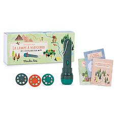Achat Mes premiers jouets Lampe à Histoires de l'Explorateur - Le Jardin du Moulin