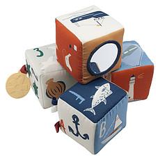 Achat Mes premiers jouets Cubes en Tissu Seven Seas