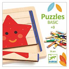 Achat Mes premiers jouets Coffret de 6 Puzzles Basic