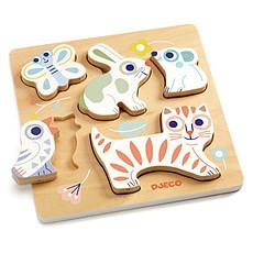Achat Mes premiers jouets Puzzle Encastrable Babyanimali