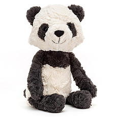 Achat Peluche Tuffet Panda - Medium