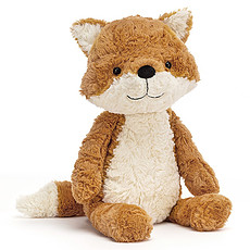 Achat Peluche Tuffet Fox - Medium