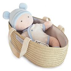 Achat Mes premiers jouets Poupon Blanc et Ciel avec Couffin