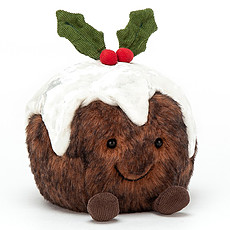 Achat Peluche Amuseable Xmas Pudding - Small