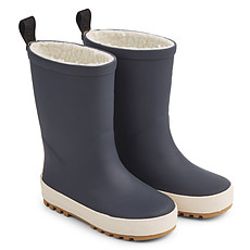 Achat Chaussons & Chaussures Bottes de Pluie Mason - Navy et Crème de la Crème
