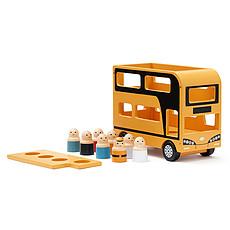 Achat Mes premiers jouets Autobus à l'Impériale Aiden