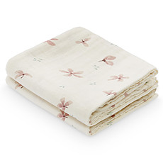 Achat Lange Lot de 2 Langes - Windflower Cream