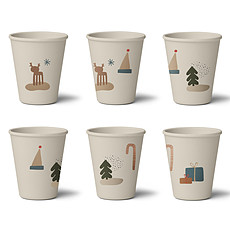 Achat Tasse & Verre Lot de 6 Verres Gertrud Holiday Mix - 250 ml