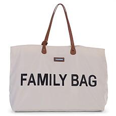 Achat Sac à langer Family Bag - Ecru et Noir