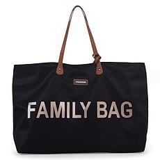 Achat Sac à langer Family Bag - Noir et Or