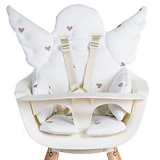 Achat Chaise haute Coussin de Chaise Haute Ange Jersey - Hearts