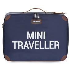Achat Bagagerie enfant Valise Mini Traveller - Marine et Blanc