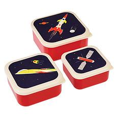 Achat Vaisselle & Couvert Lot de 3 Boîtes - Space Age