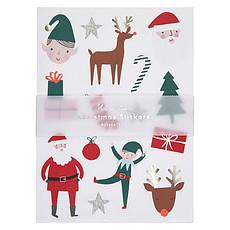 Achat Sticker Lot de 10 Planches d'Autocollants - Noël