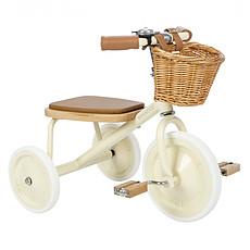 Achat Trotteur & Porteur Tricycle Trike - Crème