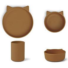 Achat Coffret repas Set Repas 3 Pièces Junior Cyrus - Cat Mustard