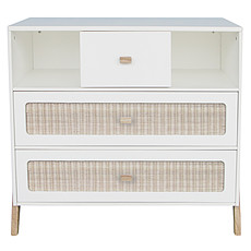 Achat Commode Commode en Rotin Marelia - Neige
