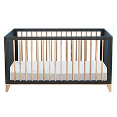 Achat Lit bébé Lit Bébé Evolutif en Rotin Nami Onyx - 70 x 140 cm