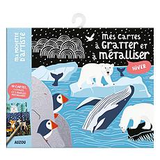 Achat Livre & Carte Mes Cartes à Gratter et à Métalliser - Hiver