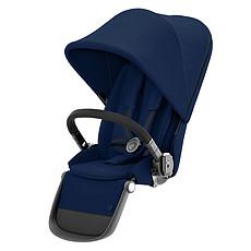 Achat Accessoires poussette Siège Supplémentaire Gazelle S Châssis Black - Navy Blue