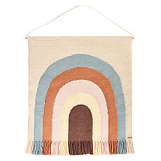 Achat Objet décoration Tapis Mural Follow the Rainbow -Multi